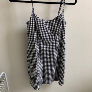 pacsun checkered dress